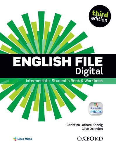 English file digital. Intermediate. Entry checker-Student's book-Workbook. Per le Scuole superiori. Con e-book. Con espansione online