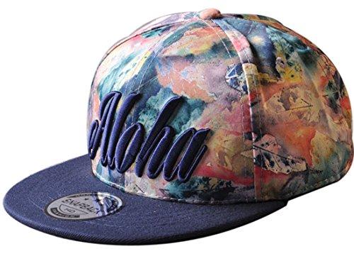 Belsen Kind Hip-Hop Schreiben Cap Baseball Kappe Hut Truckers Hat (Erwachsene, Marine)
