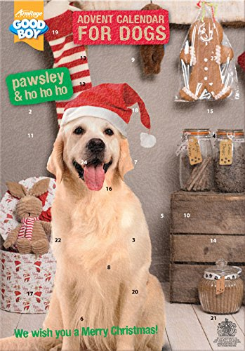 Armitage Pawsley Chien Calendrier de l'Avent