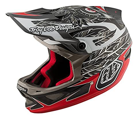 Troy Lee Designs Downhill-MTB Helm D3 Schwarz Gr. XL