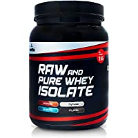 Mettle Raw and Pure Whey Isolate | Isolate | Whey Protein | 27g Protein per serve | 5.9g BCAAs | Raw | (Unflavoured, 1 Kg)