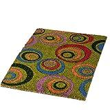 real,- QUALITY Fussmatte Kokos | 40 x 60 cm | Schmutzfangmatte | Fußabtreter | mit Vinylrücken