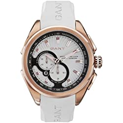 GANT Herren-Armbanduhr XL Analog Quarz Plastik W10586