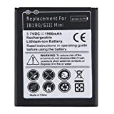 Fanyong Li-Ion-Akku für 1900mAh Ersatz für Samsung Galaxy S3 Mini GT-i8190 i8160