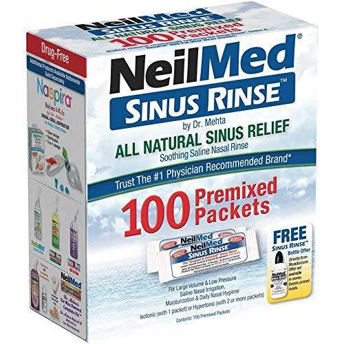 Sinus RinseTM Nasal Wash 100 Päckchen preisvergleich