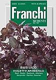 Basilikum Violetto Aromatico von Franchi Sementi