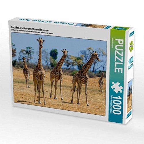 Giraffen im Moremi Game Reserve 1000 Teile Puzzle quer Preisvergleich