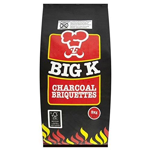 Big K Charcoal Briquettes 5kg