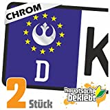 Rebellen-Allianz - Jedi Kennzeichen Aufkleber Sticker Nummernschild - IN 15 FARBEN