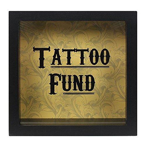 Cabinet of curiosities - salvadanaio con scritta tattoo fund (taglia unica) (può variare)