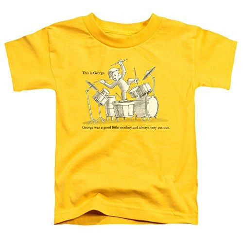 Curious George Kleinkinder dieses ist George-T-Shirt, 4T, Yellow - Curious George Kleinkind T-shirt
