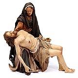 Holyart La Pietà Scena della Deposizione Angela Tripi 30 cm