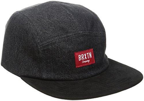 brixton-cappellino-da-uomo-hoover-5-tv-a-schermo-piatto-uomo-hoover-5-panel-washed-black-black-tagli