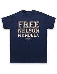 Nelson Mandela Free Nelson Mandela Herren T-Shirt