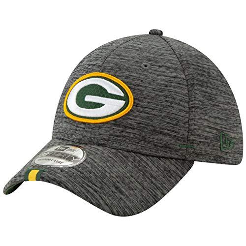New Era - NFL Green Bay Packers On Field 2019 Training 39Thirty Cap - Grau Größe M-L, Farbe Grau