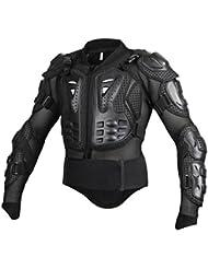 Gazechimp Equipo de Protección Ropa de Carreras de Motos Chaqueta de Armadura de Motocross - XXL