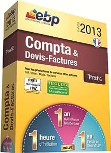 EBP Compta et Devis Factures Pratic 2013  + Services VIP