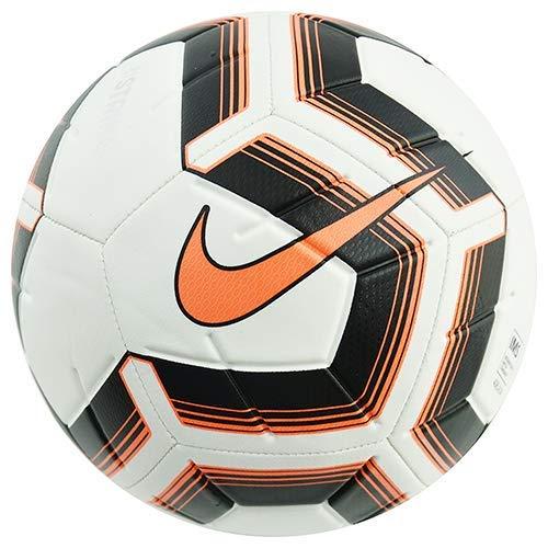 Nike NK Strk Team IMS Balón de fútbol, Adultos Unisex, White/Black/Total Orange/Total, 5