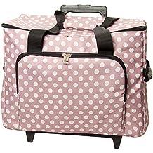 HobbyGift MRTB.006   Sewing Machine Trolley Bag   Mauve Spot by Tacony Corporation