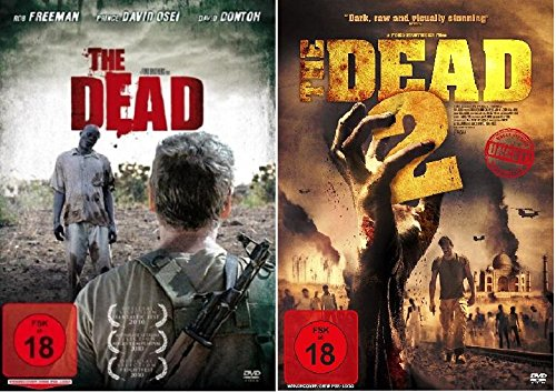 (The Dead 1+2 DVD Set, The Dead 2010 + The Dead 2 : India beide uncut und deutsch)