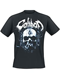 Caliban Skull Camiseta Negro