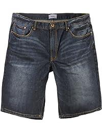 Jeansbermuda von Allsize in Herrenübergröße, dunkelblau