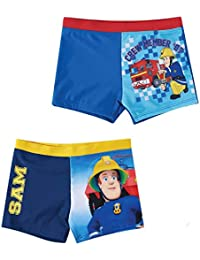 Sam el bombero Chicos Pantalón bañador - Azul marino