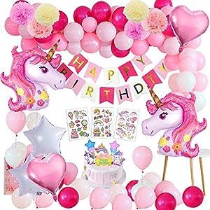 Unicornio Fiesta Decoración Unicornio cumpleaños