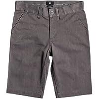 DC Shoes Worker Heathered - Chino Shorts - Chino Shorts - Jungen - Schwarz