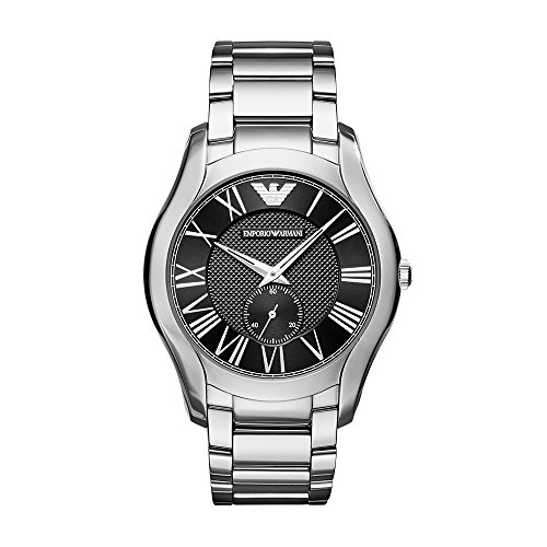 Emporio Armani Men's Analog Quartz Watch with Stainless-Steel Strap AR11086