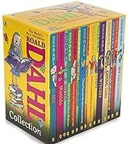 Roald Dahl Collection Set of 15 Books by Roald Dahl - Paperback