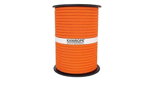Tress/é Polypropyl/ène Corde Cordage PP 8mm 100m Orange 0131