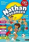 Cahier de Vacances 2019 du CE1 vers le CE2 - Nathan Vacances - 7/8 ANS