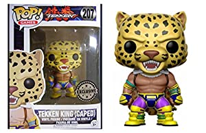 Figura Vinyl Pop! Tekken King Caped Limited