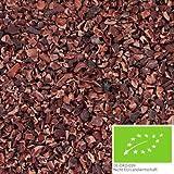 500g di nibs di cacao BIO realizzati con fave di cacao criollo - pennini al cacao BIO per un'intensa esperienza di gusto - confezione che rispetta l'ambiente