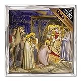 Tarjetas navideñas (ALM7700) en ayuda de asociación apoplejía - adoración de los magos - unidades 8 tarjetas