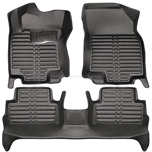 Auto Fußmatten Fußraumschalen Set Passend für Nissan Qashqai (J11) Baujahr ab 2013