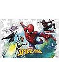 Procos-Spider-Man Team-up (120x 180cm) Nappe en plastique 120x 180cm, multicolore, Taille unique, 89449