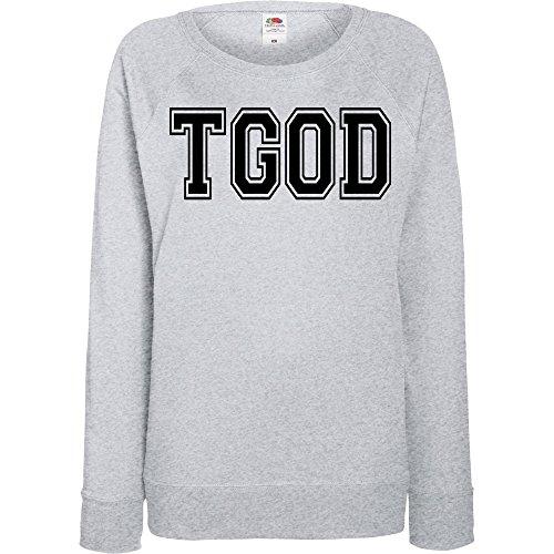 TRVPPY - Sweat Pull, modèle TGOD Taylor Gang - Femme, différentes tailles et couleurs Gris