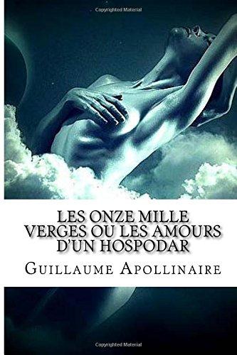 Les Onze mille verges ou les Amours d'un hospodar par Guillaume Apollinaire