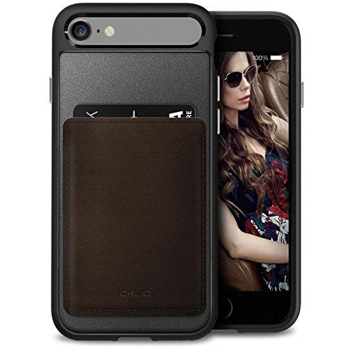 Preisvergleich Produktbild Obliq OBIP7-FXW02 Flex Wallet Schutzhülle für Apple iPhone 7,  11, 93 cm (4, 7 Zoll) braun