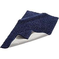 Pinzon by Amazon Cotton Luxury Loop Bath Rug, 53 x 86 cm - Dark Blue