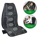 #4: Speedwav YCL-130 Full Seat Length Car Back Seat Vibrating Massager - Black