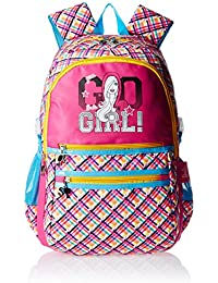 Barbie Nylon 43 cms Multi color Children's Backpack (Age group :6-8 yrs)