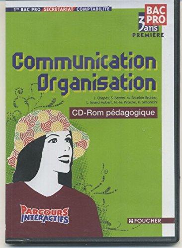 Communication Organisation 1e Bac Pro comptabilité : CD-Rom professeur par J. Chapey