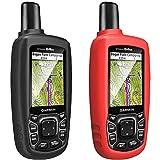 TUSITA Cas pour Garmin GPSMAP 62 62s 62st 62sc 62stc 64 64s 64st 64sc - Housse de Protection en Silicone Peau - Navigateur GPS Portable Accessoires (2-Pack)