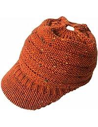Gorro para hombres mujeres Baggy sombrero Invierno Lana tejer Béisbol  Crochet Invierno Vaciar WOLL Gorro eaf8cd15b11