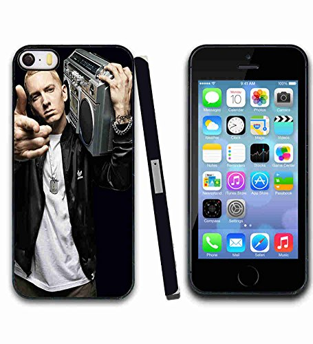 Ultra Slim Case pour Apple iPhone 5 5s SE Coque Étui Celebrity Eminem CELE 136