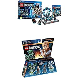 LEGO - Starter Pack Dimensions (PS4) + LEGO Dimensions - Jurassic World, Owen & ACU