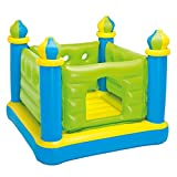 Intex Jr. Jump-O-Lene Castle Inflatable Bouncer, 52 X 52 X 42, for Ages 3-6 by Intex